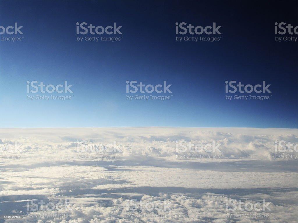 blue horizons 2 royalty-free stock photo