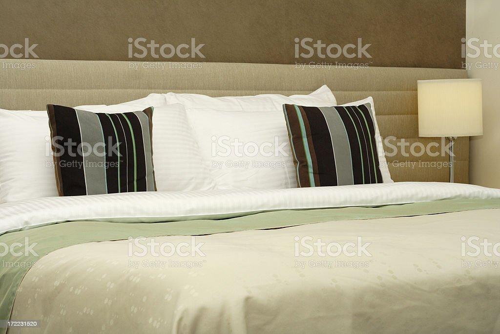 blue hotel royalty-free stock photo
