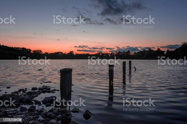 Photo of Blue hour at Westport lake.