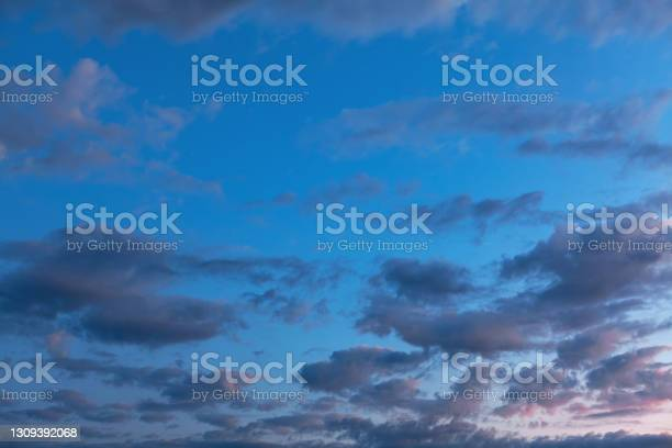 Photo of Blue Hour with soft clouds