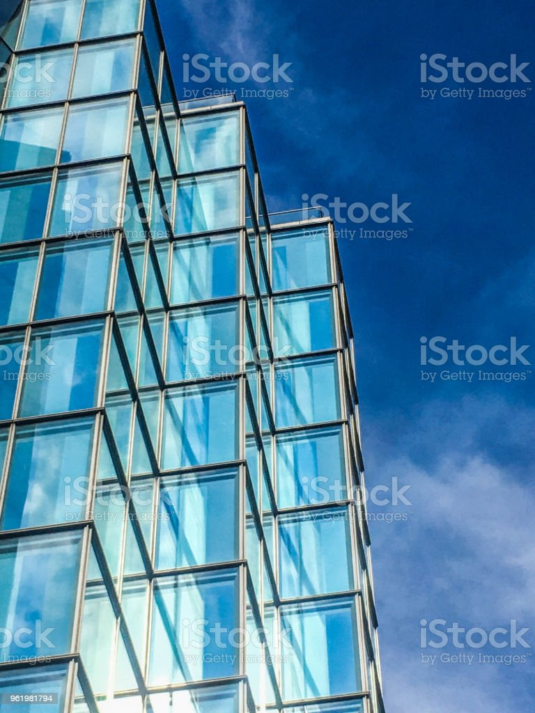 Blue Hues In London stock photo