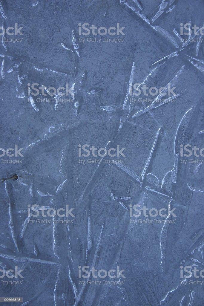 Blue Ice closeup royalty-free stock photo