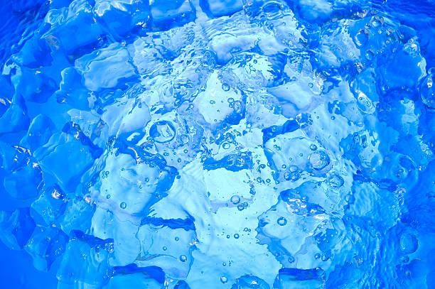 Azul hielo - foto de stock