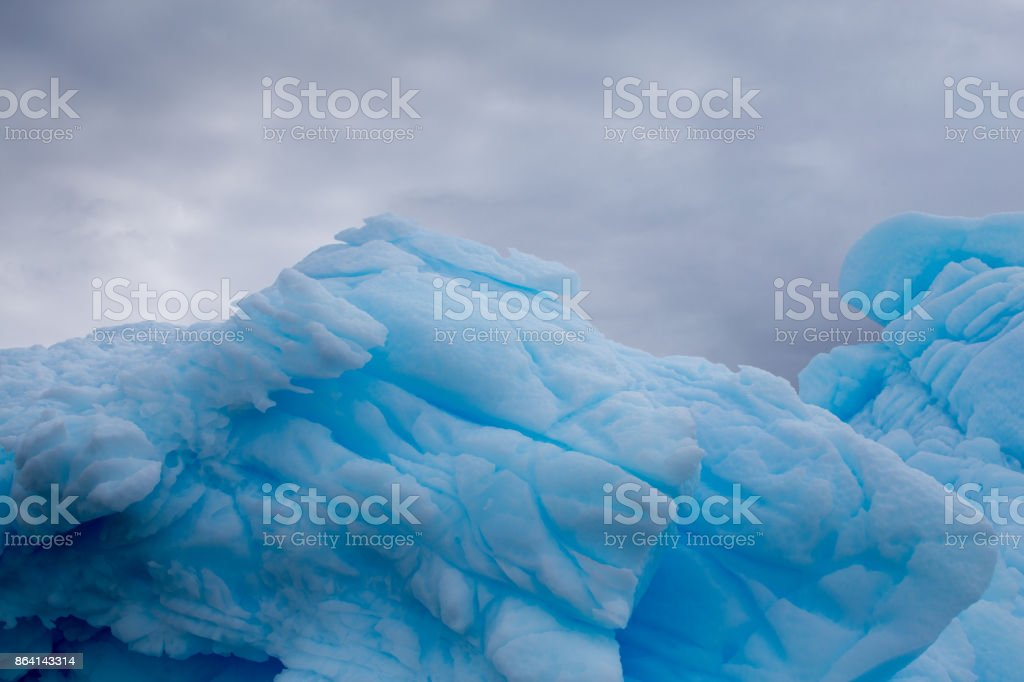 Blue Ice royalty-free stock photo