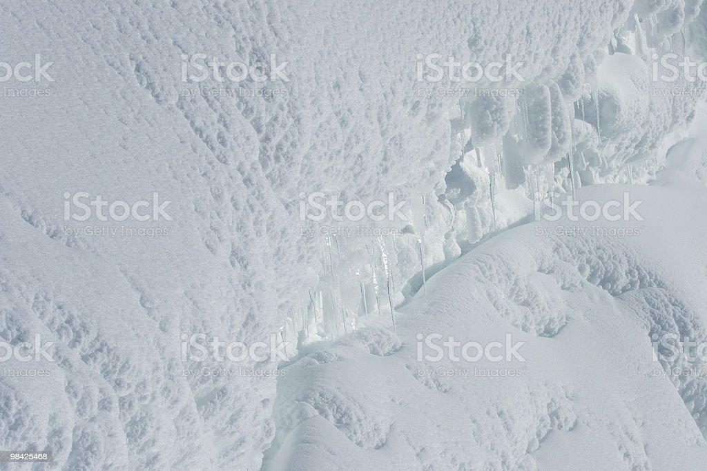 Blu ghiaccio che ha lo stesso aspetto di Icecream foto stock royalty-free