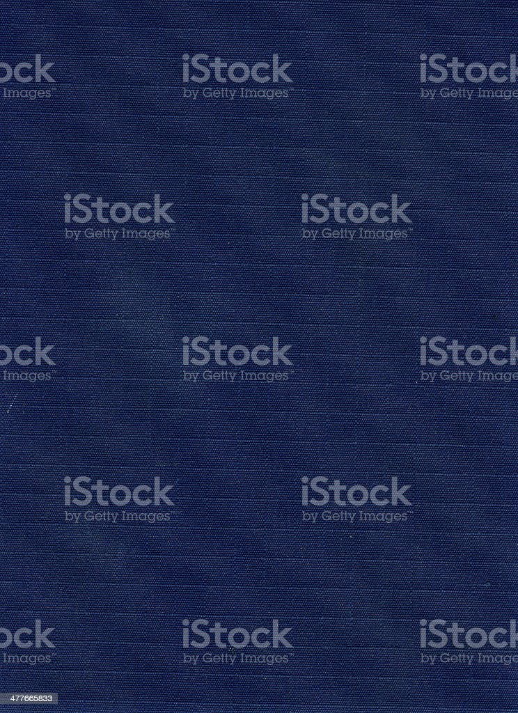 Blue Industrial Canvas Texture royalty-free stock photo