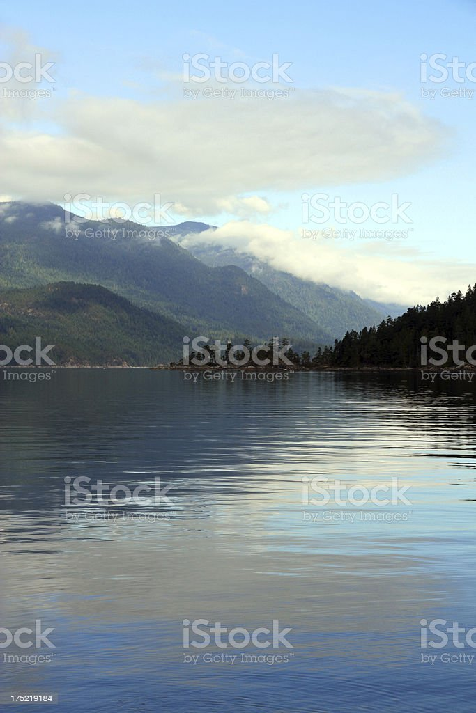 Blue Inlet stock photo