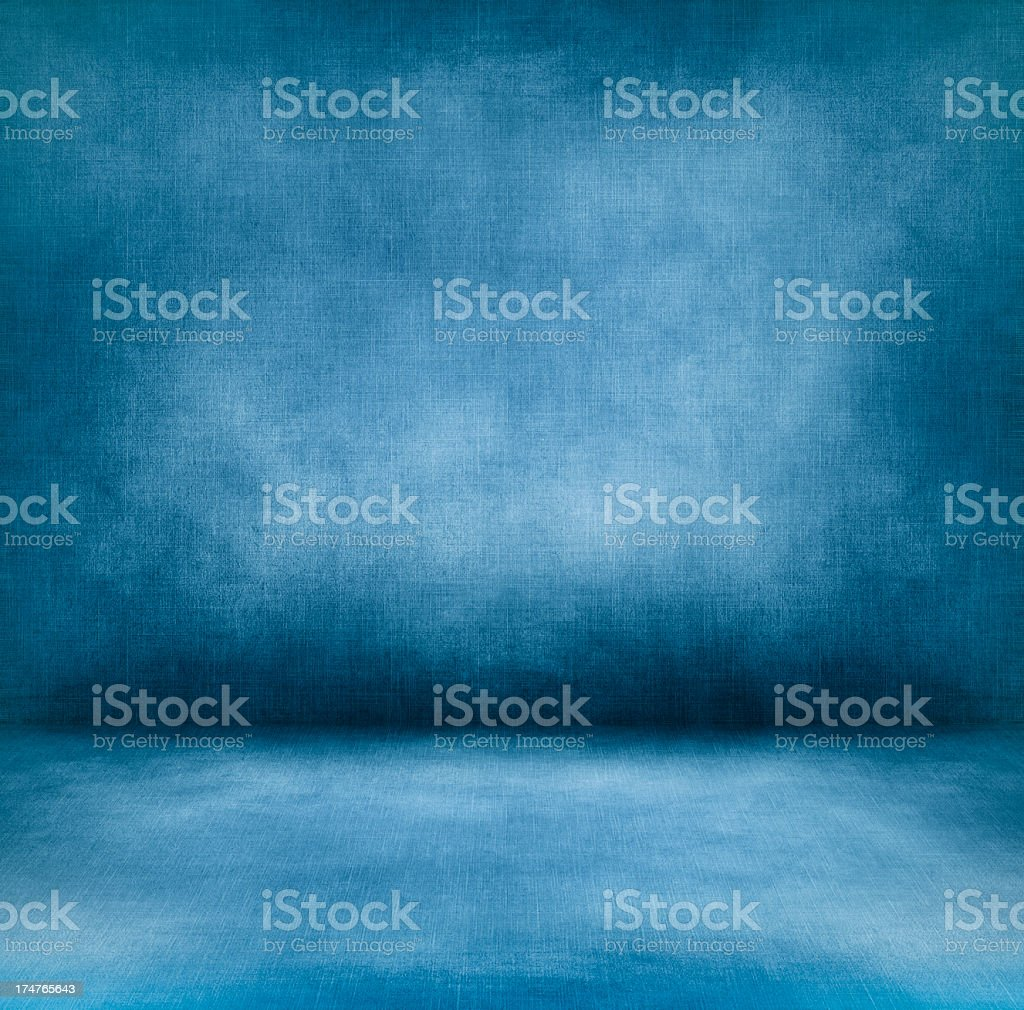 Blue interior XXXL stock photo