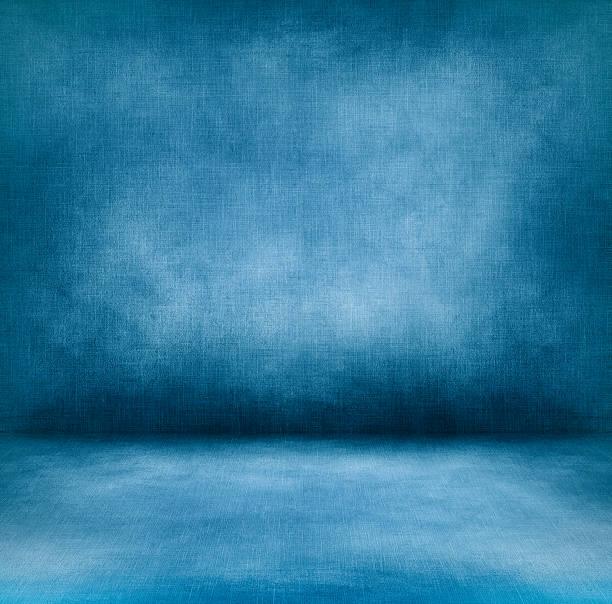 Blue interior XXXL stock photo