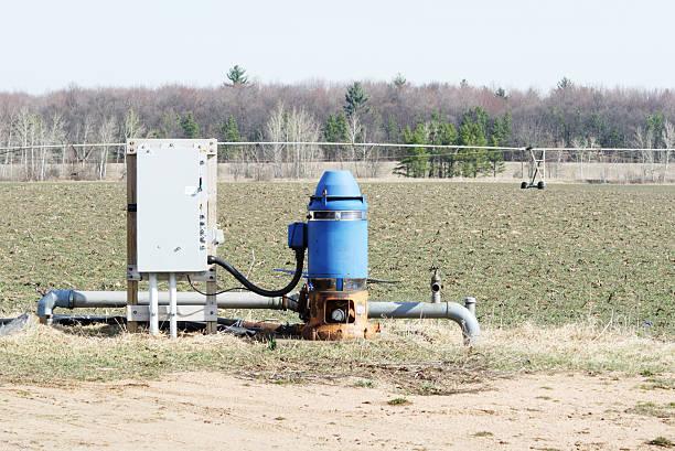 Blue Bewässerung gut – Foto