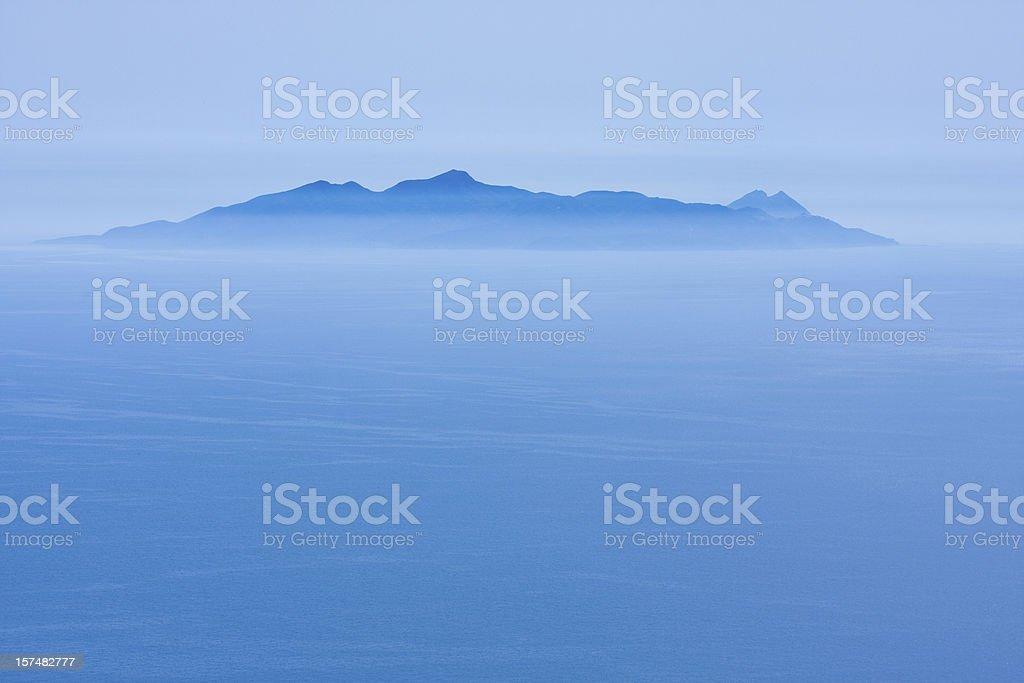 blue island royalty-free stock photo