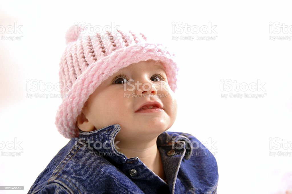Blue Jean Baby royalty-free stock photo