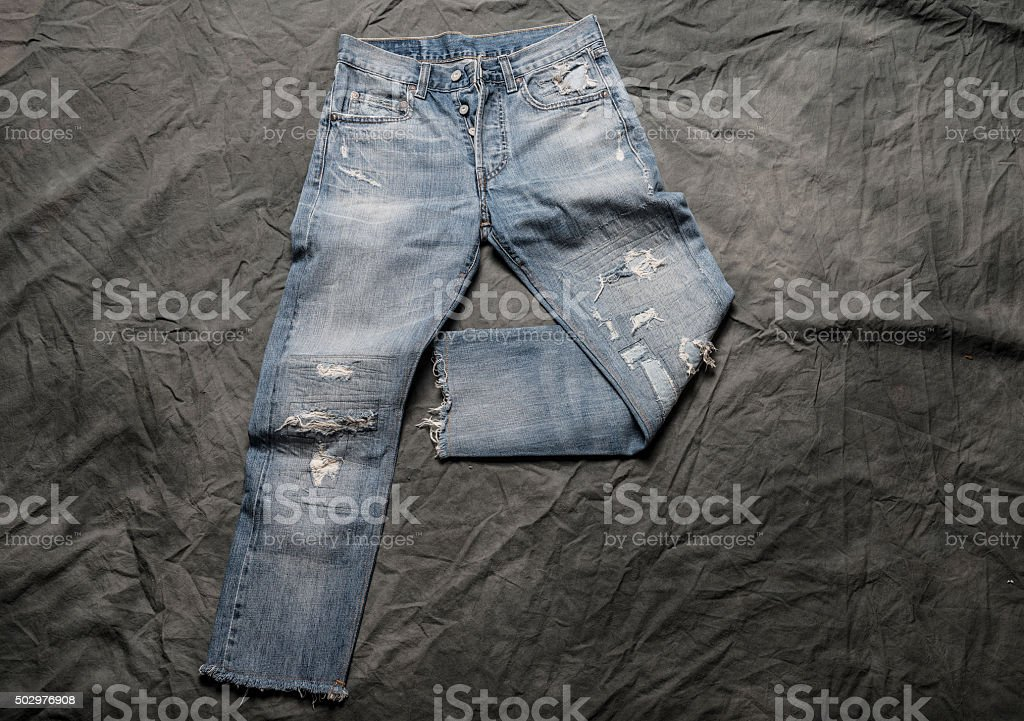 Blue Jean stock photo