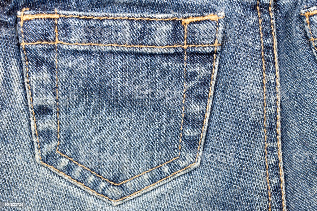 Blue Jeans Background royalty-free stock photo
