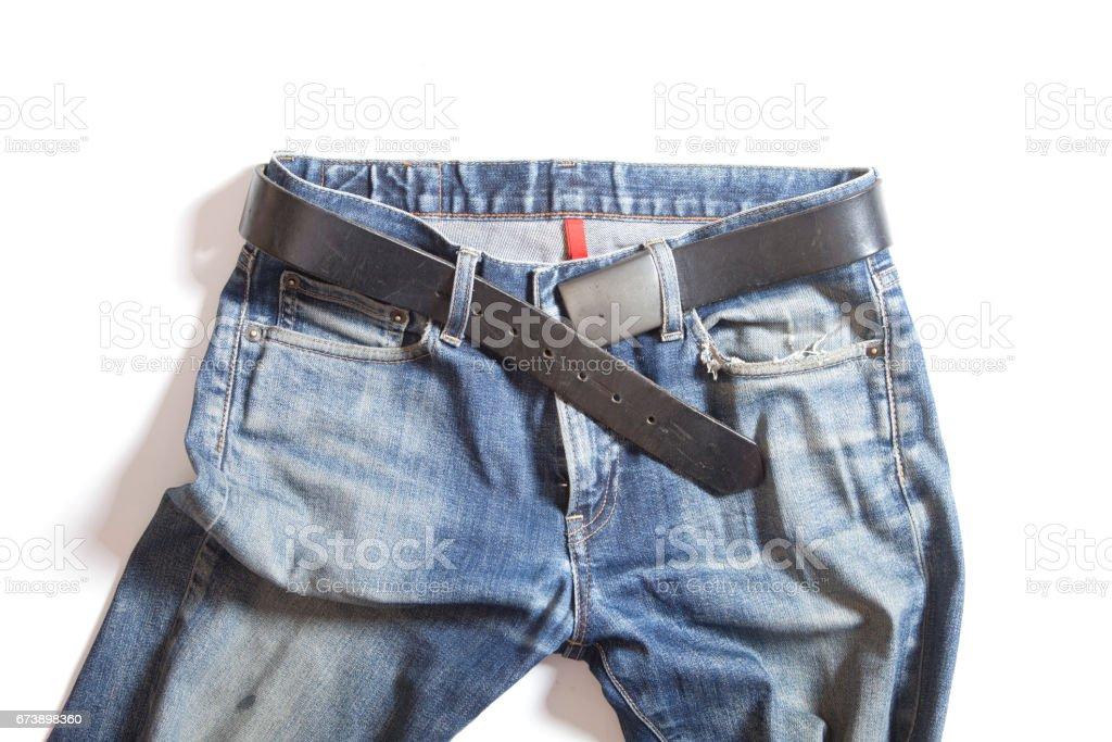 blue jeans photo libre de droits
