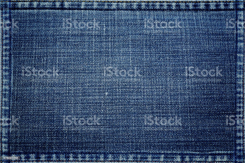 blue jeans texture background stock photo