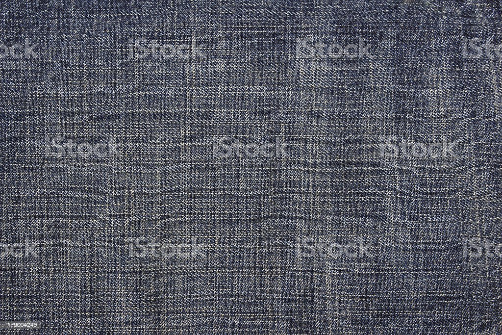 Blue jeans texture can be used as background. stock photo