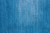 Blue jeans texture. Natural denim background. Close up.