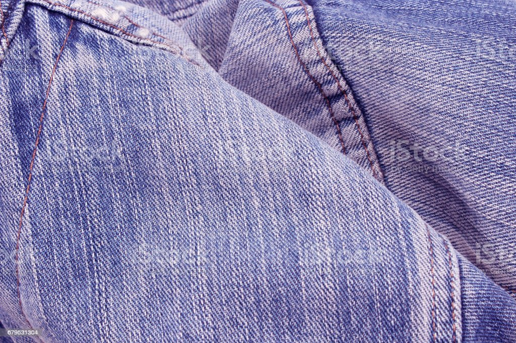 Blue jeans texture or background royalty-free stock photo