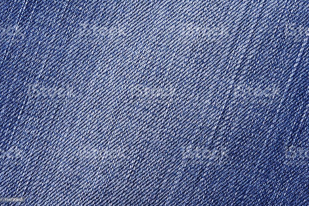 Textura azul jeans - fotografia de stock