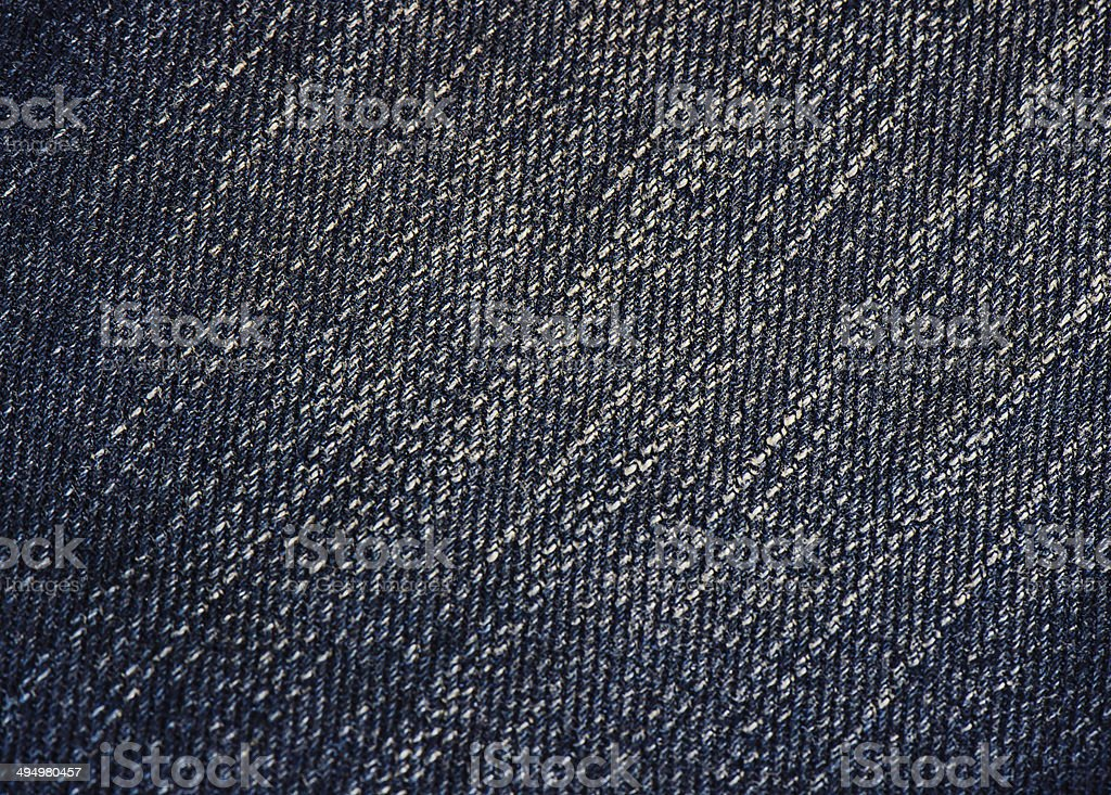 Blue jeans texture royalty-free stock photo