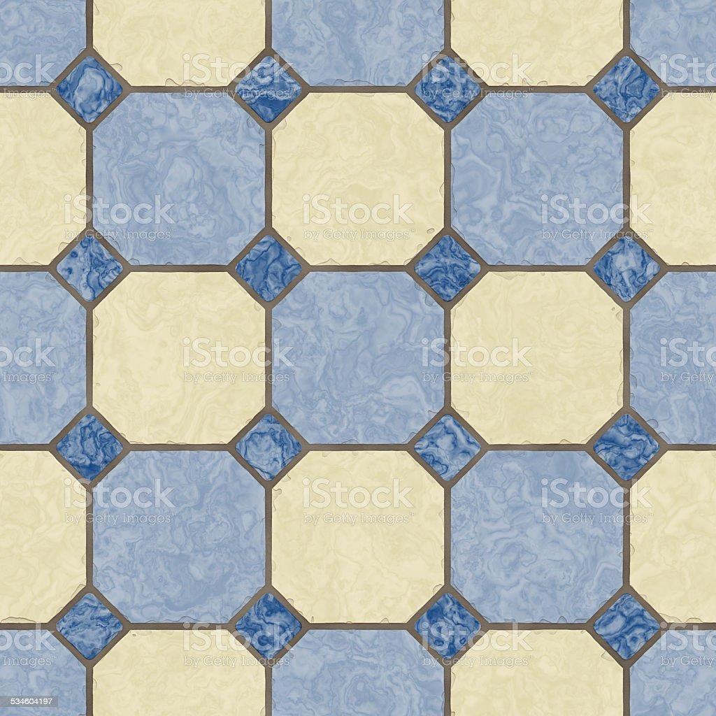 Blue Kitchen Floor Tile Seamless Texture Stock Photo Istock