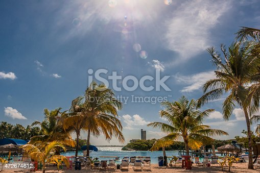 istock Blue Lagoon, Bahamas 472674612