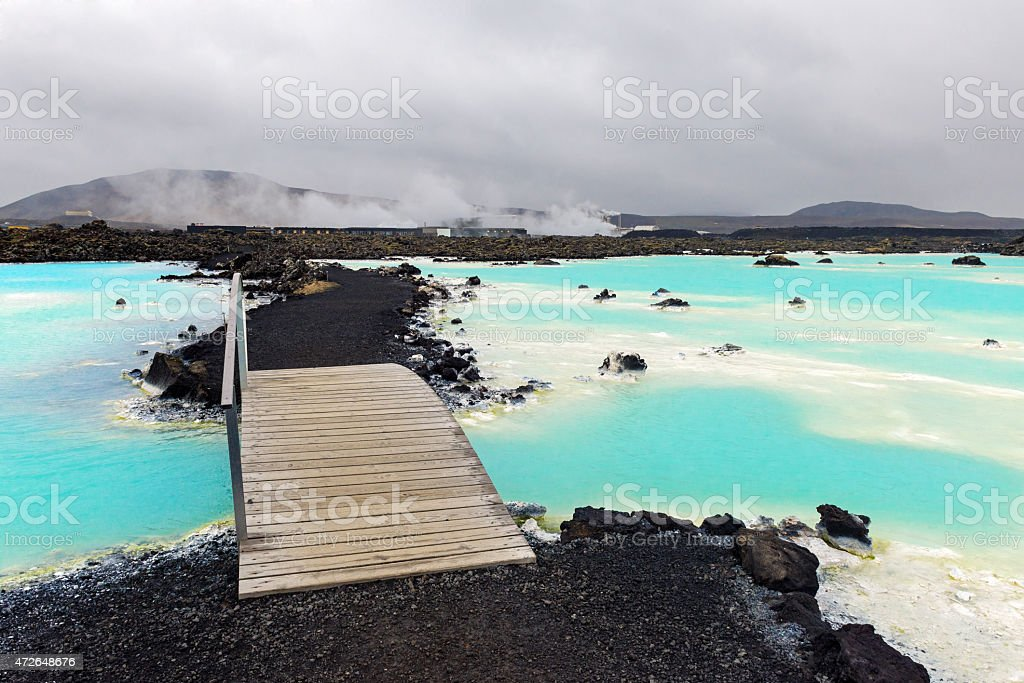 Blue Lagoon, Iceland, Europe stock photo