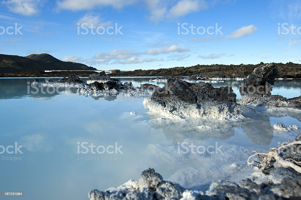 Blue Lagoon. Iceland stock photo