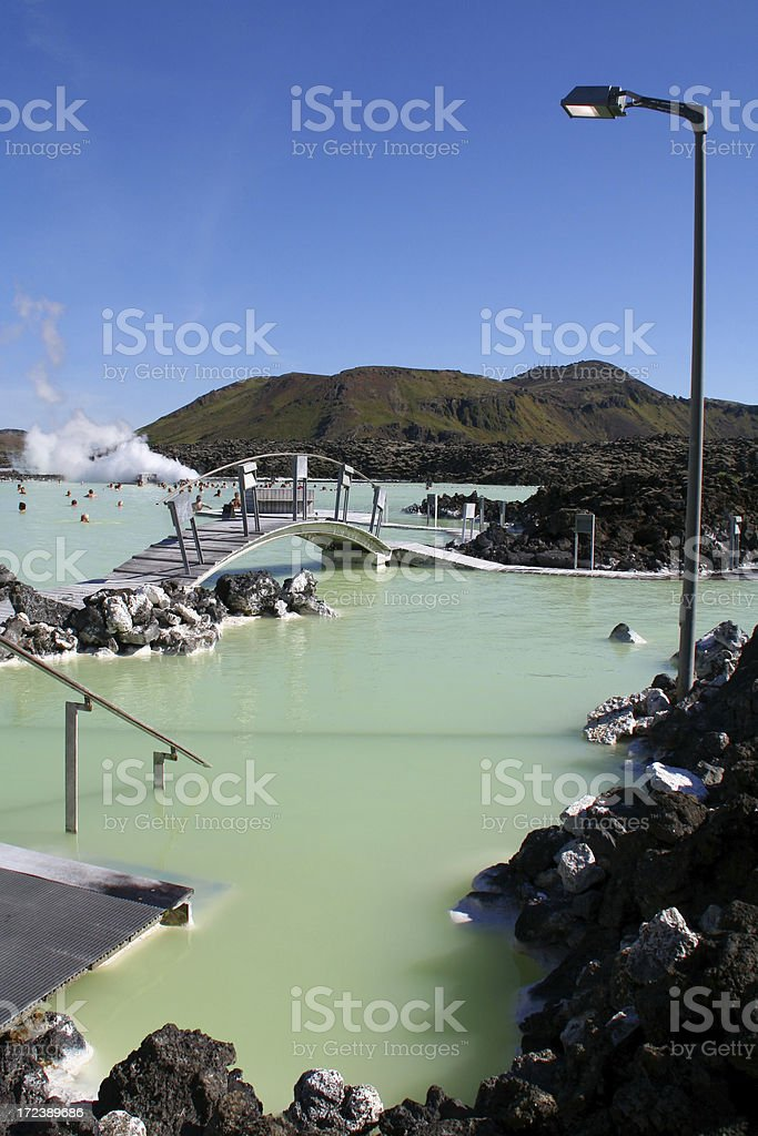 Blue lagoon - Iceland # 6 royalty-free stock photo