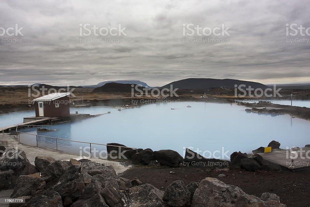 Blue Lagoon, Iceland - foto de stock
