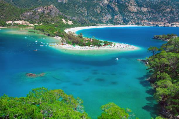 Blaue Lagune in Ölüdeniz, Türkei – Foto