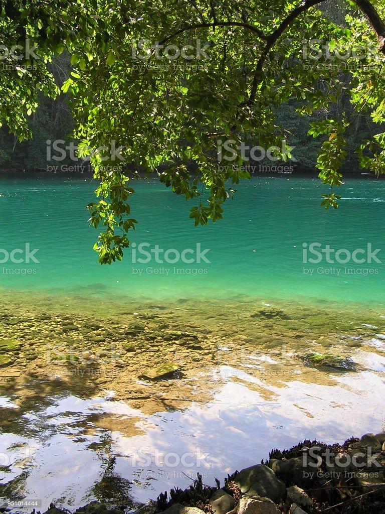Blue Lagoon In Port Antonio Jamaica Stock Photo Download Image Now