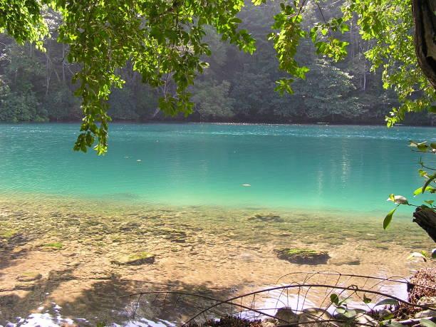 Blaue Lagune in Port Antonio, Jamaika – Foto