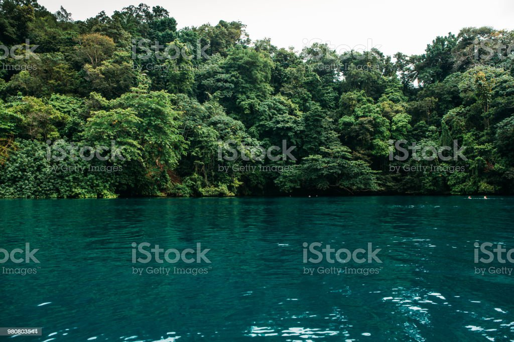 Blue Lagoon On Jamaica Stock Photo Download Image Now