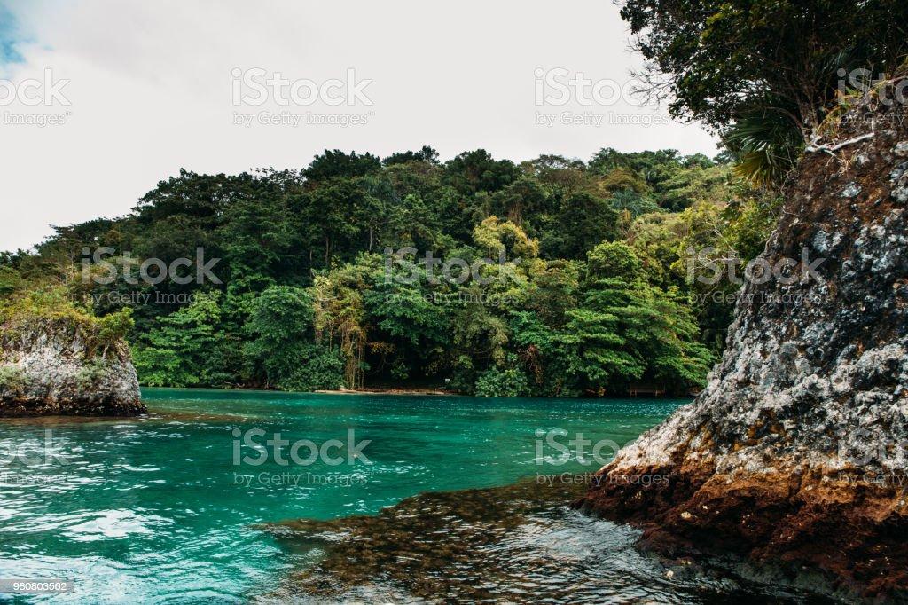 Blue Lagoon On Jamaica Stock Photo Download Image Now Istock