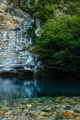istock Blue lake in Abkhazia 922767306