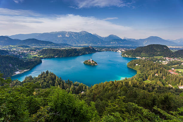 Bled Lake, Slowenien, Europa – Foto