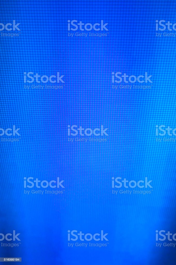 blue LCD movie projector broadcast digital noise electronic signal failure stock photo