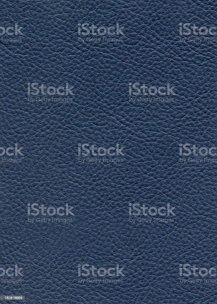 Blue leather stock photo