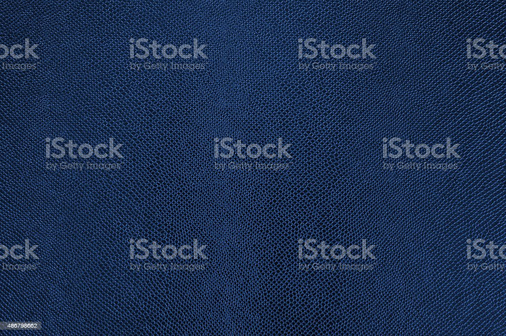 Blue leather texture as background stock photo