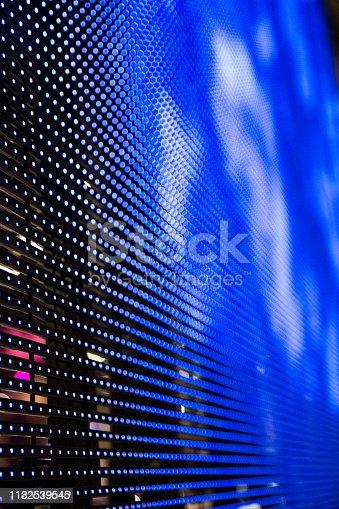 932724974 istock photo blue LED panel 1132539545
