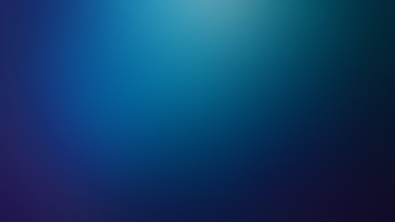 Blue Light Defocused Blurred Motion Abstract Background, Widescreen, Horizontal