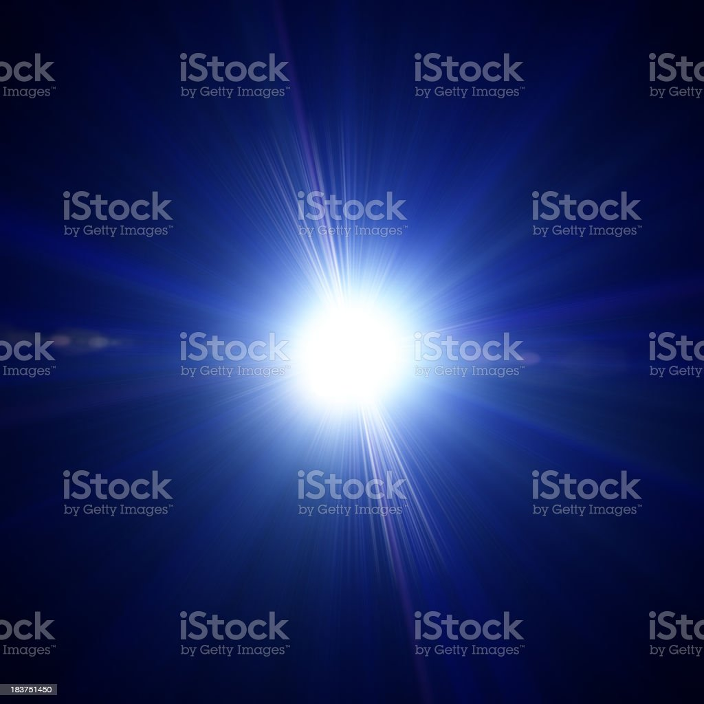 Blue light royalty-free stock photo