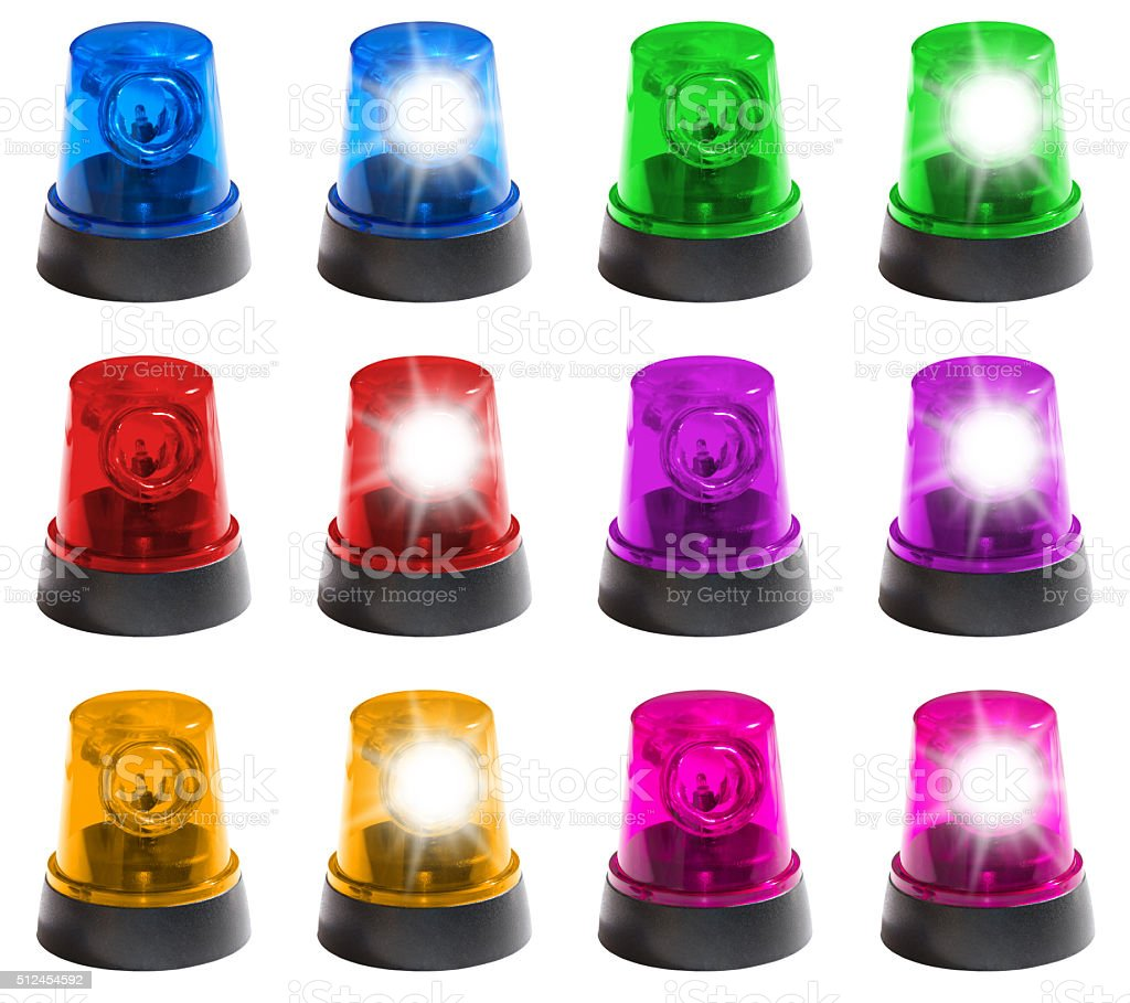 Blue light, Red light, Party light stock photo