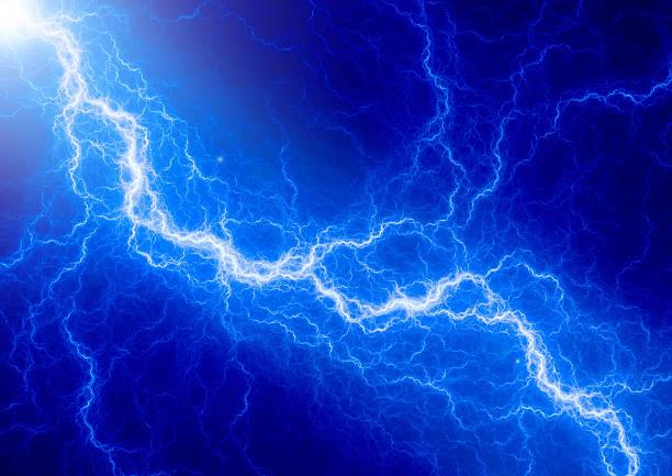 голубая молния - lightning стоковые фото и изображения