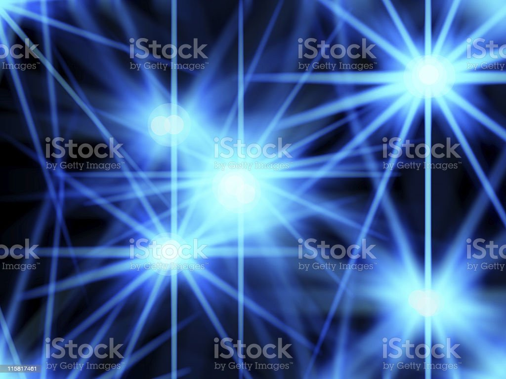 blue lightray royalty-free stock photo