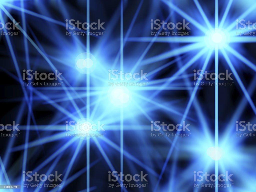 blue lightray stock photo