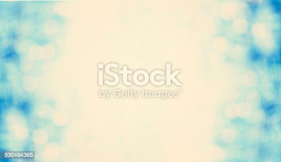 istock Blue Lights Festive Christmas  background with texture. Abstract 530494365