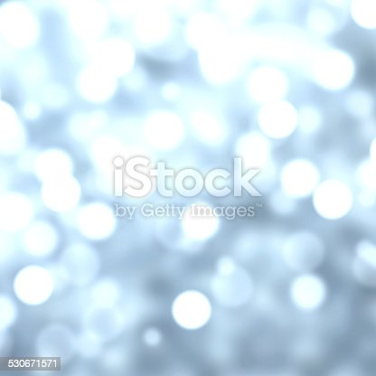 istock Blue Lights Festive Christmas  background with texture. Abstract 530671571